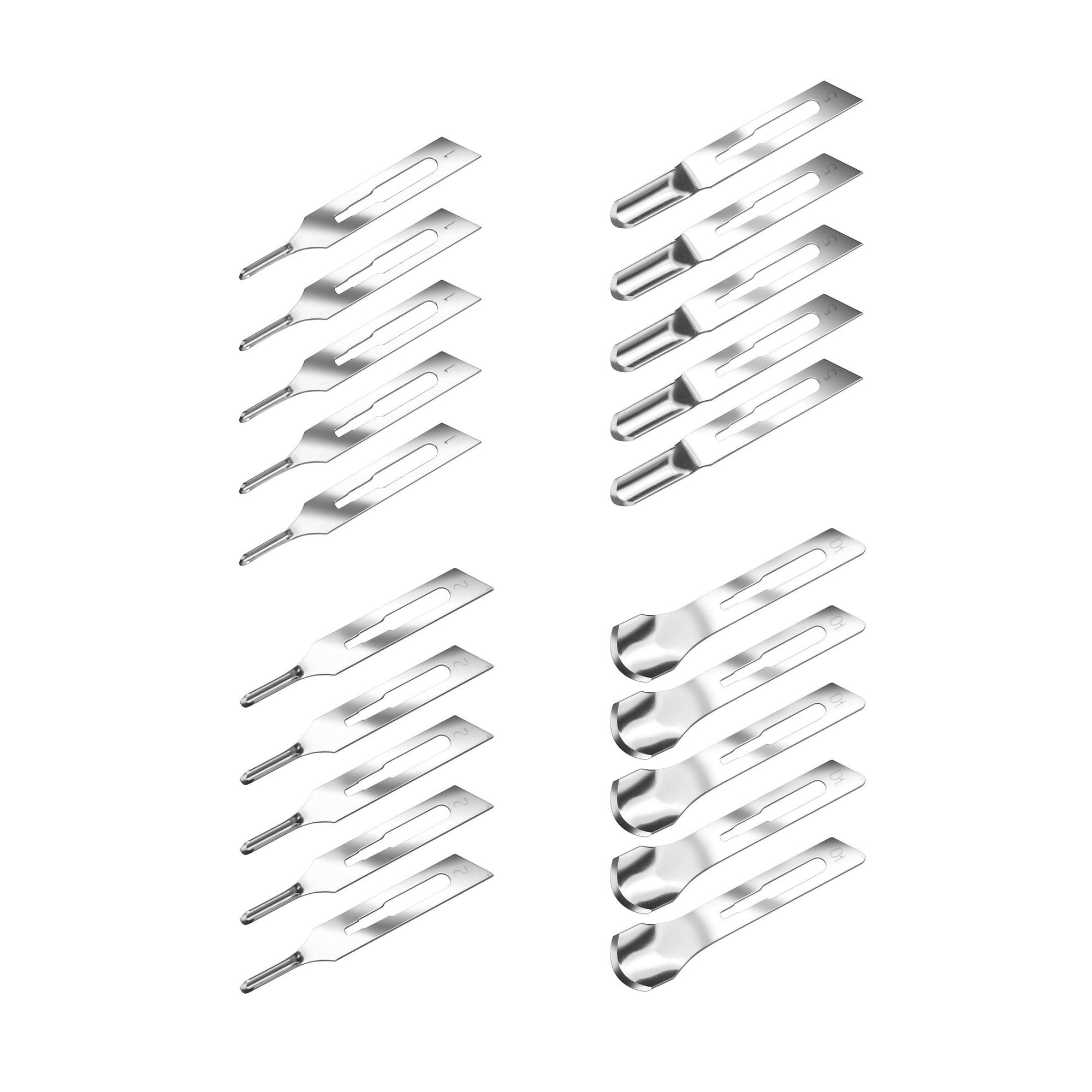 Pack - Lames de burin - 5 x 1V, 2V, 3V et 10 - Ruck