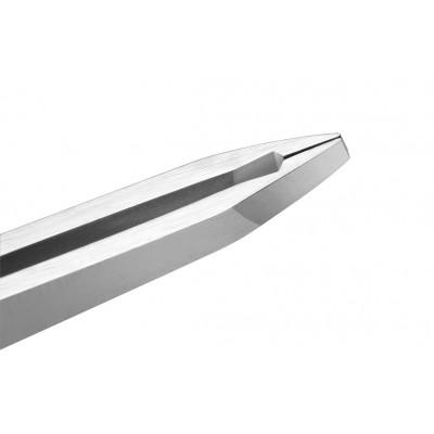 Pince à épiler ronde - Longueur : 12 cm - Tranchant : 2 mm - Ruck
