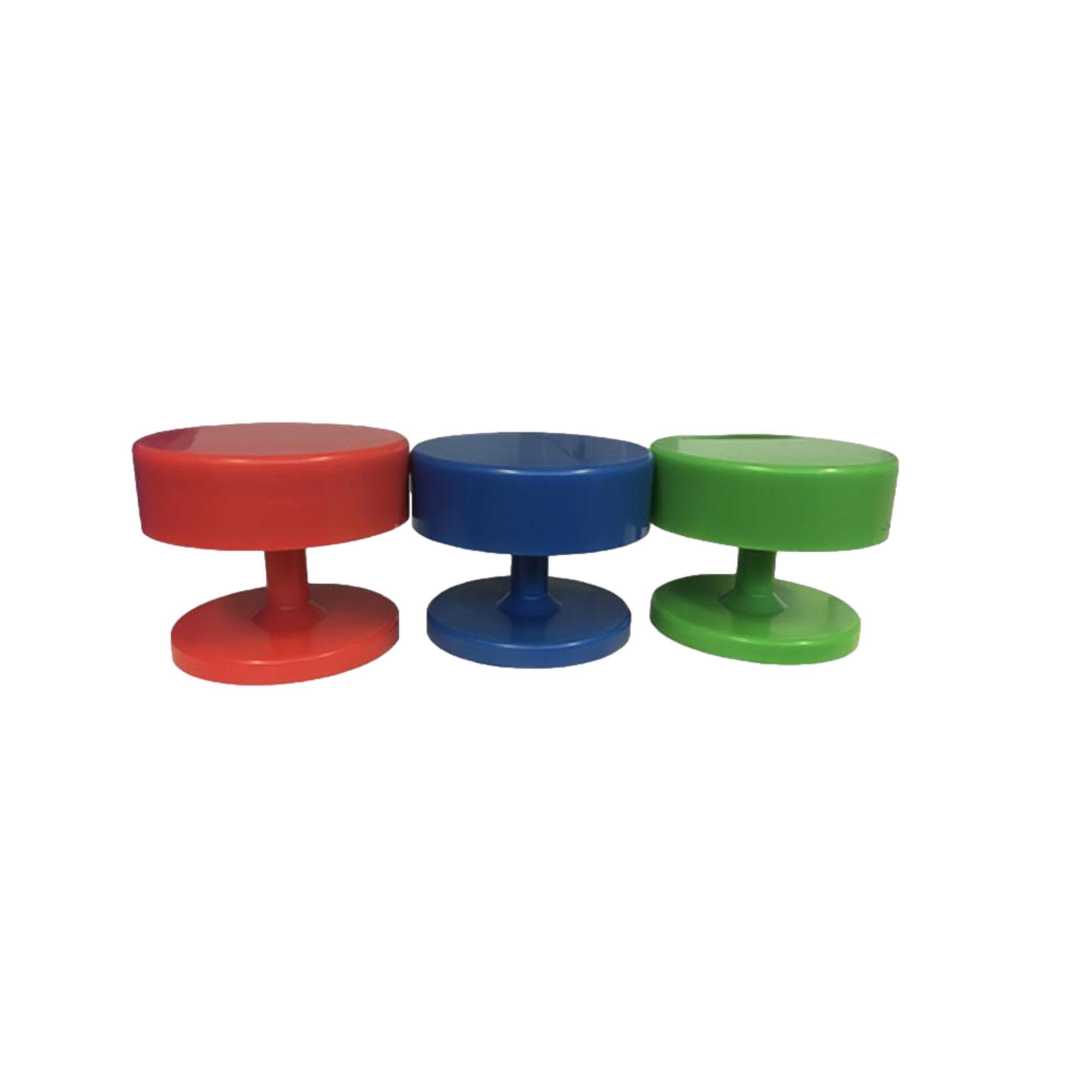 Portes fraises magnétiques - 3 coloris différents