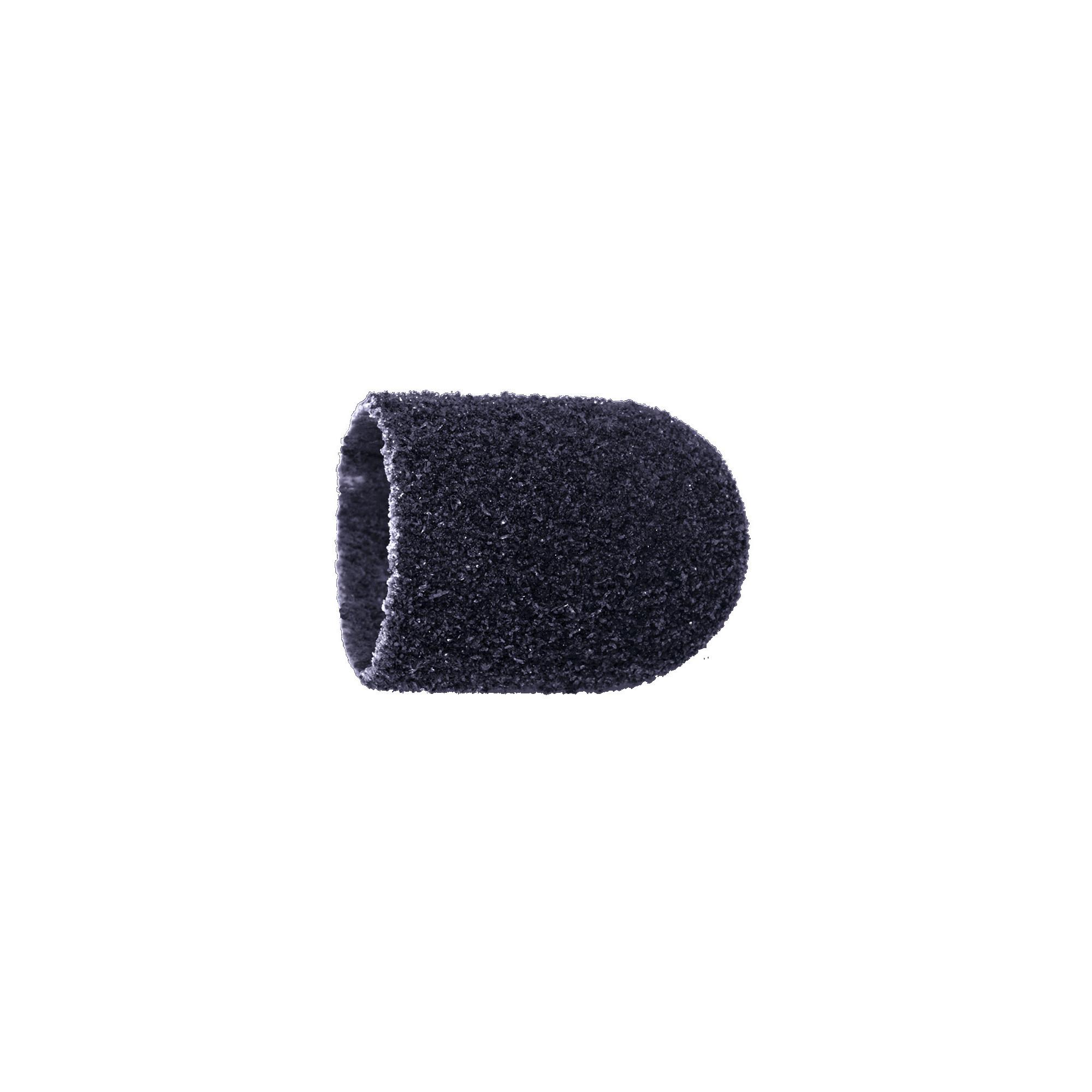Capuchons abrasifs x10 0503 - Diamant - Grain gros - Abrasion des cors, durillons et hyperkératoses - 13 mm