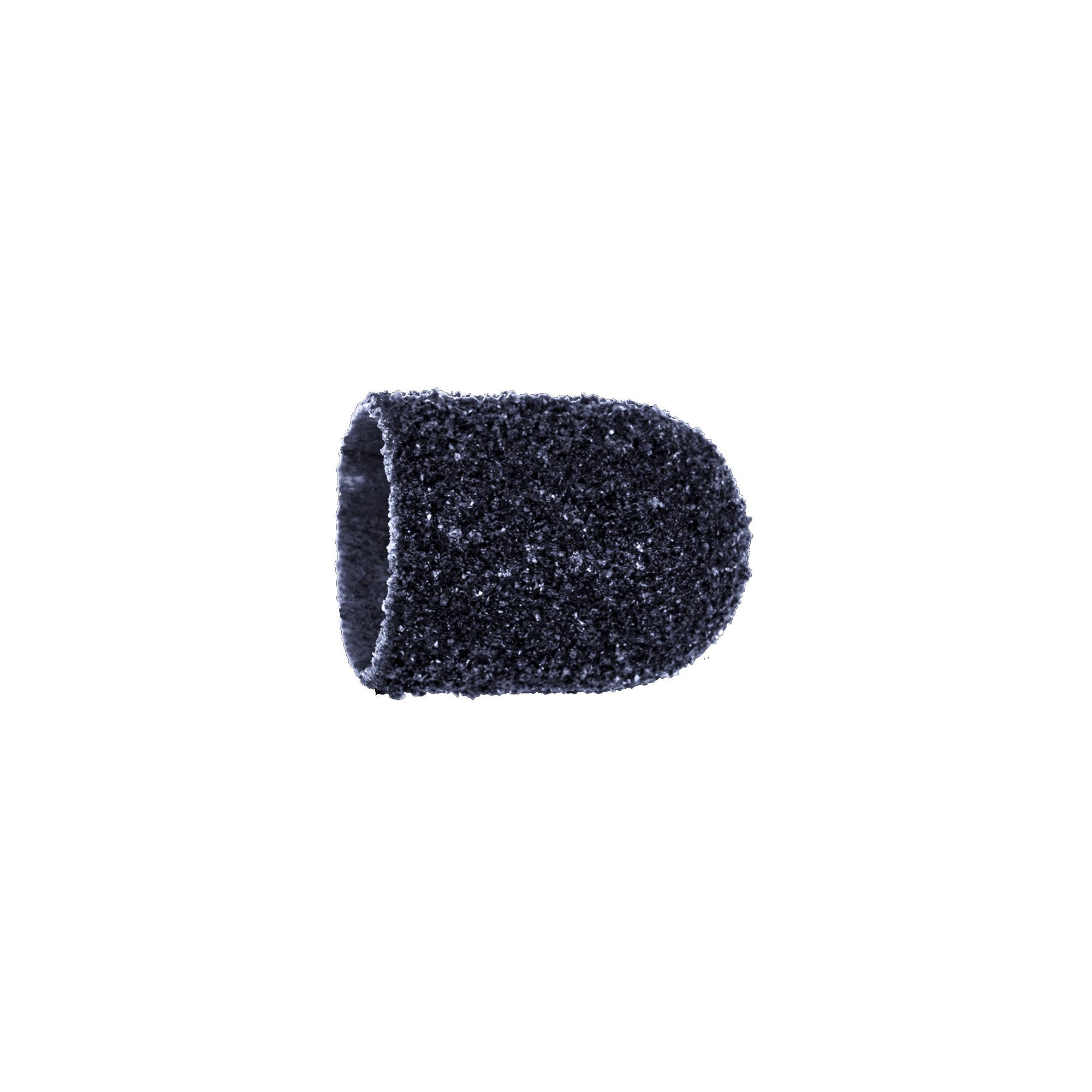 Capuchons abrasifs x10 0504 - Diamant - Grain super gros - Abrasion des cors, durillons et hyperkératoses - 13 mm