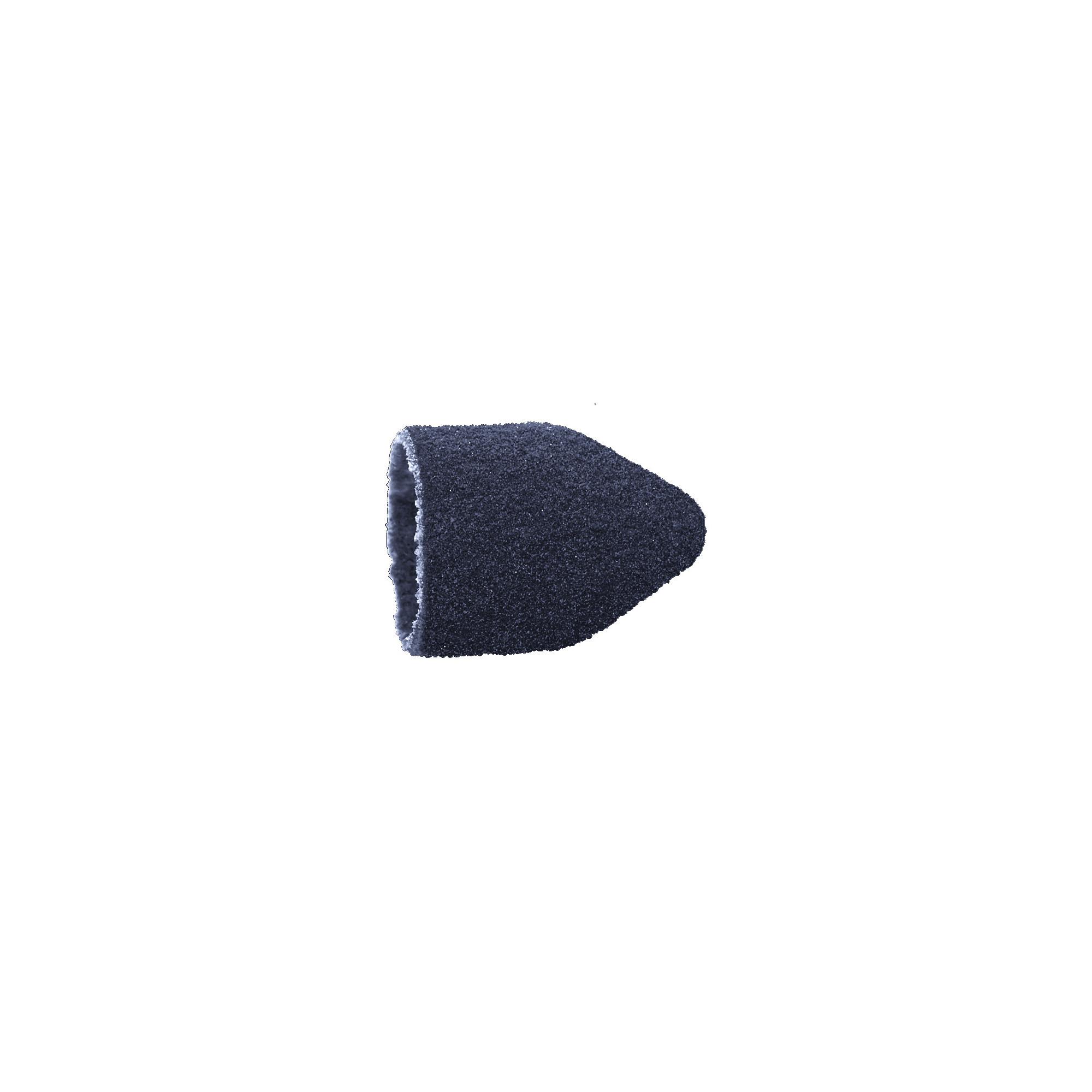 Capuchons abrasifs pointus x10 1601 - Diamant - Grain fin - Abrasion des cors, durillons et hyperkératoses - 10 mm