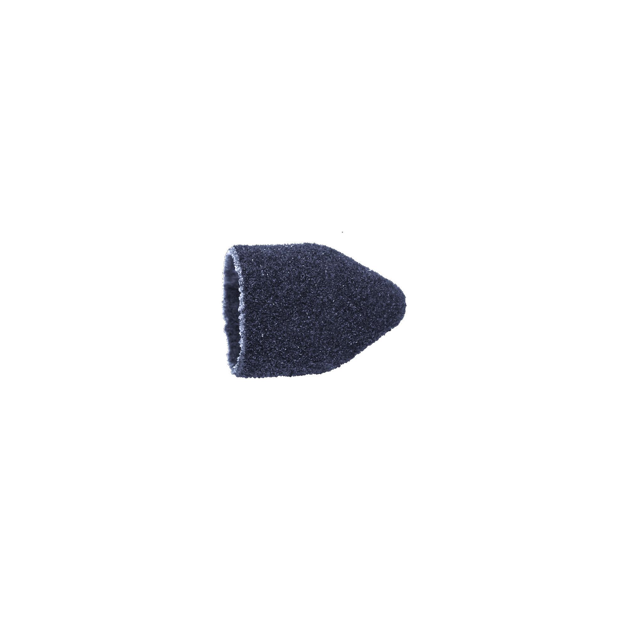 Capuchons abrasifs pointus x10 1602 - Diamant - Grain moyen - Abrasion des cors, durillons et hyperkératoses - 10 mm