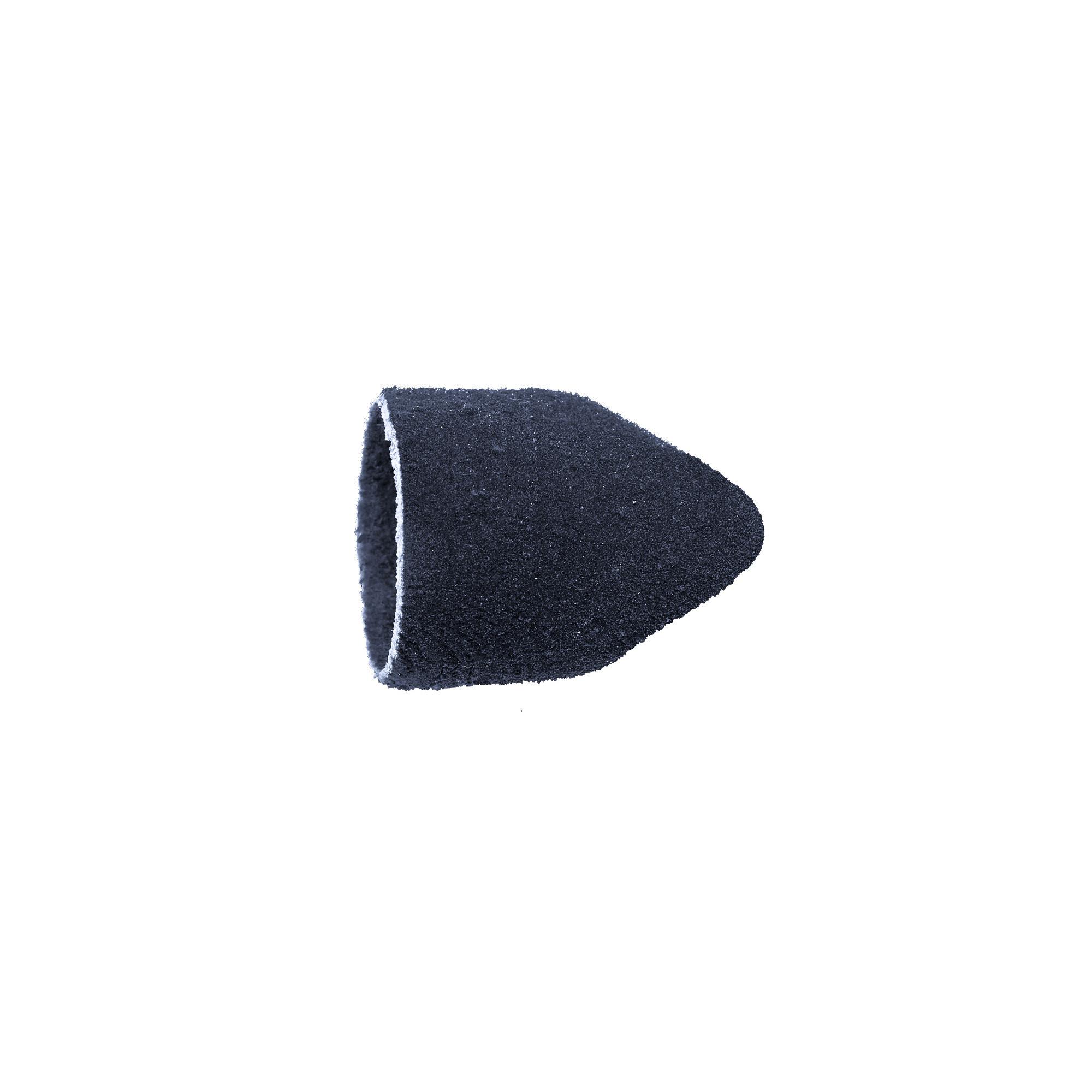 Capuchons abrasifs pointus x10 1601 - Diamant - Grain fin - Abrasion des cors, durillons et hyperkératoses - 13 mm