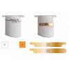 Modèle d'ongles d'entrainement pour onychoplastie - 5 pièces - Berta - Ruck