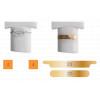 Modèle d'ongles d'entrainement pour onychoplastie - 5 pièces - Casar - Ruck