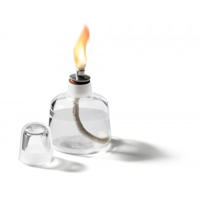 Lampe à alcool en verre clair - Ruck