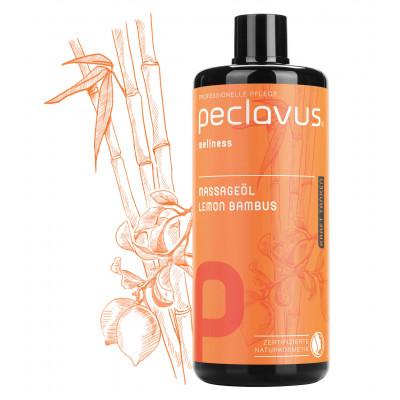Huile de massage Citron Bambou - 500 ml - Peclavus - Ruck