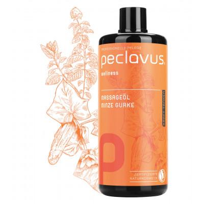 Huile de massage Menthe Concombre - 500 ml - Peclavus - Ruck