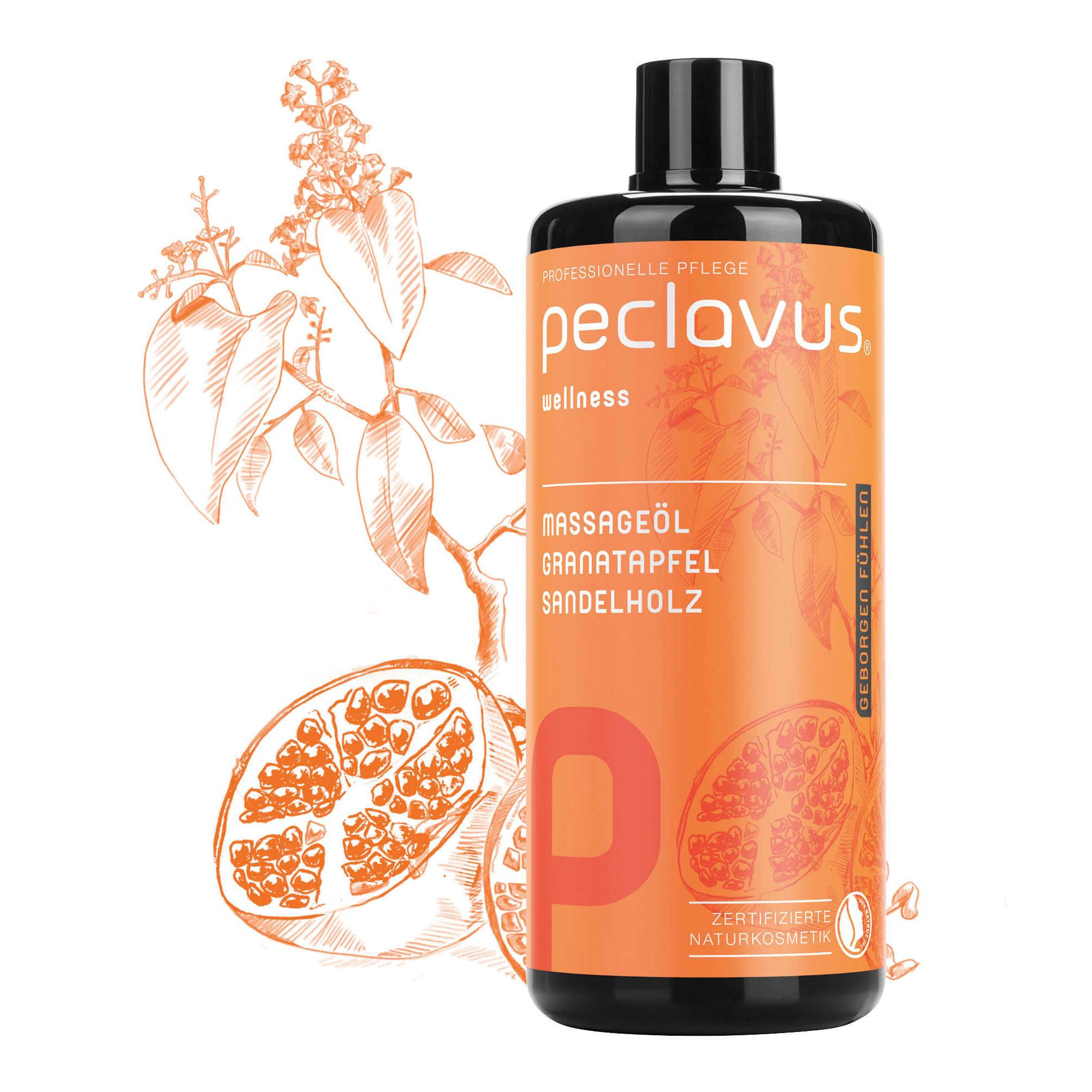 Huile de massage Miel de Macadamia - 500 ml - Peclavus - Ruck
