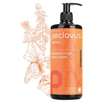 Lotion de massage Rose sauvage - 500 ml - Peclavus - Ruck