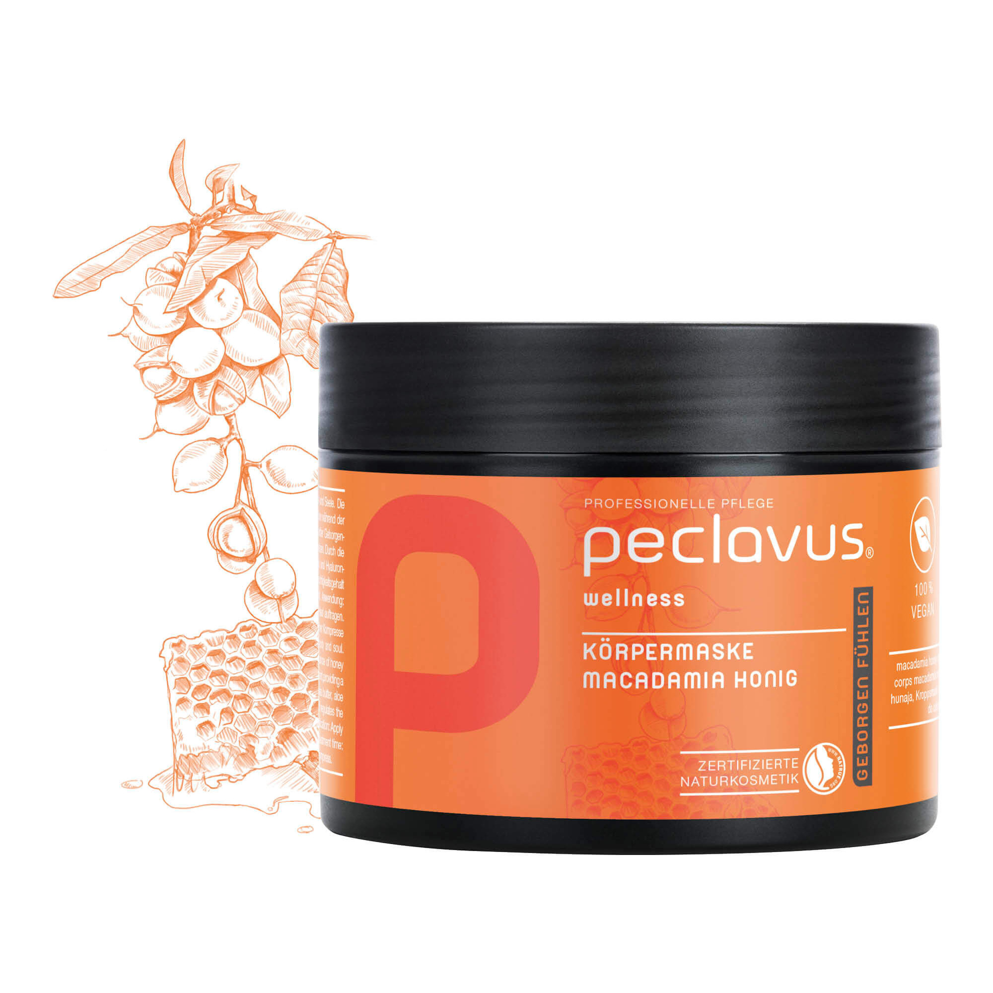 Body Peeling Neutre - 500 ml - Peclavus - Ruck