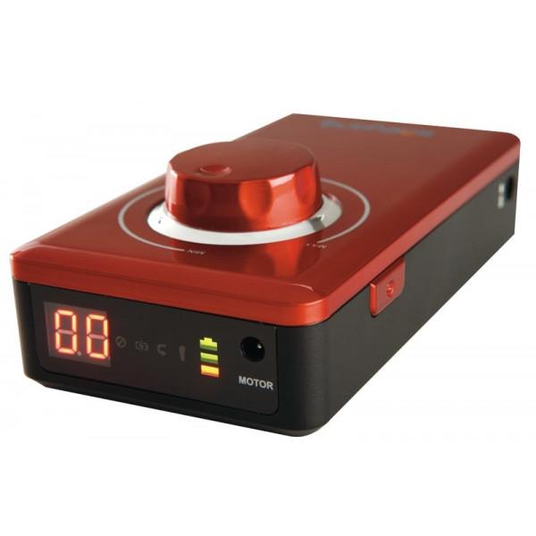 Micromoteur portable K38 - Rouge - 30 000 tr/min - Avec pièce à main démontable