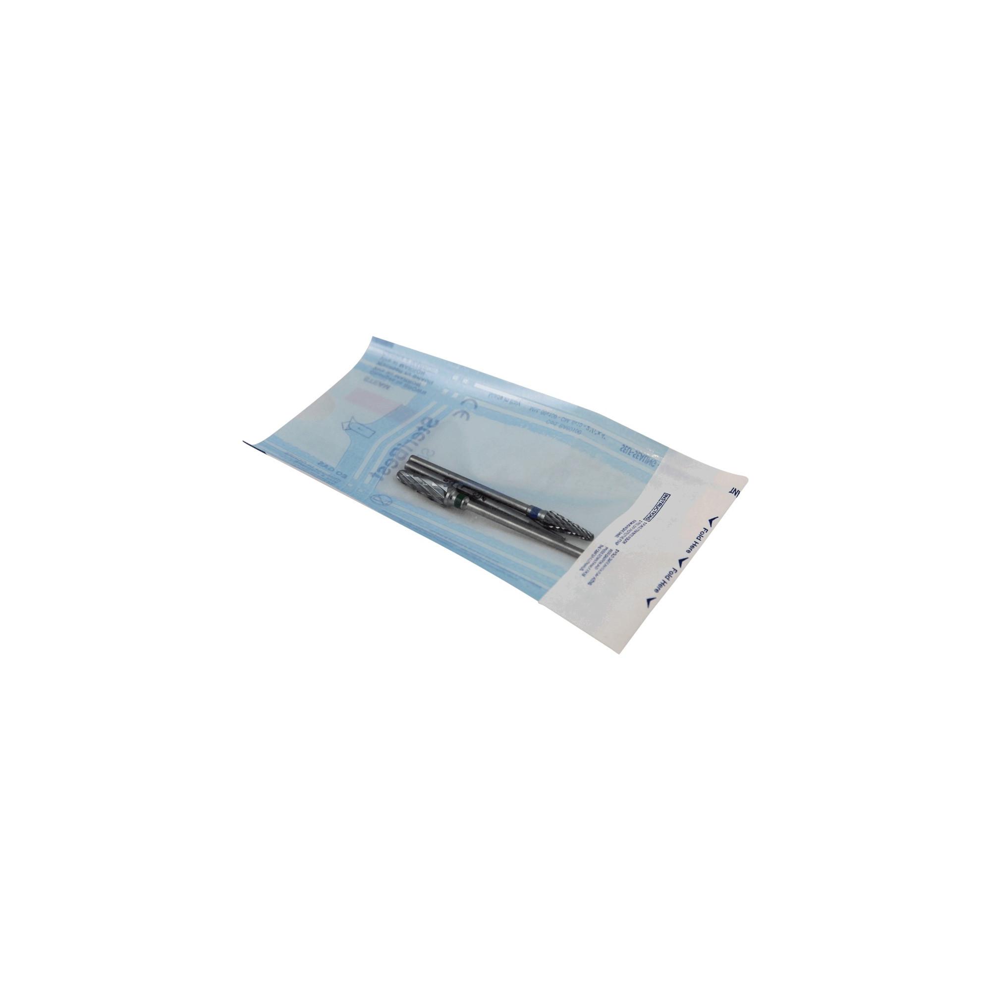 Sachet de stérilisation à fermeture autocolante