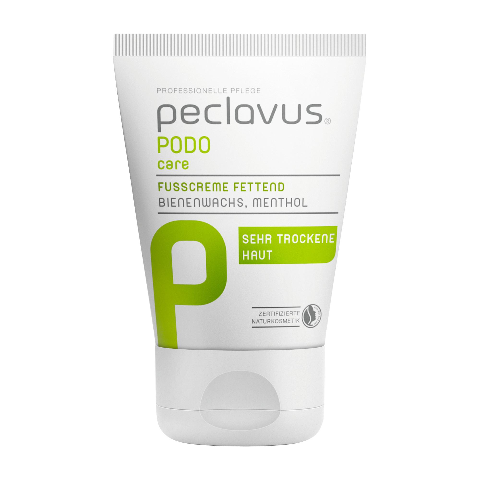 Crème grasse pour les pieds - Peclavus