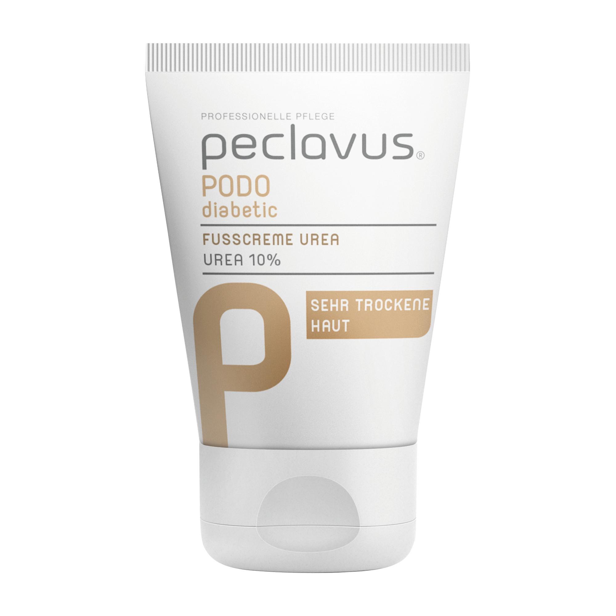 Crème à l'Urée pour les pieds - Diabétique - Peclavus