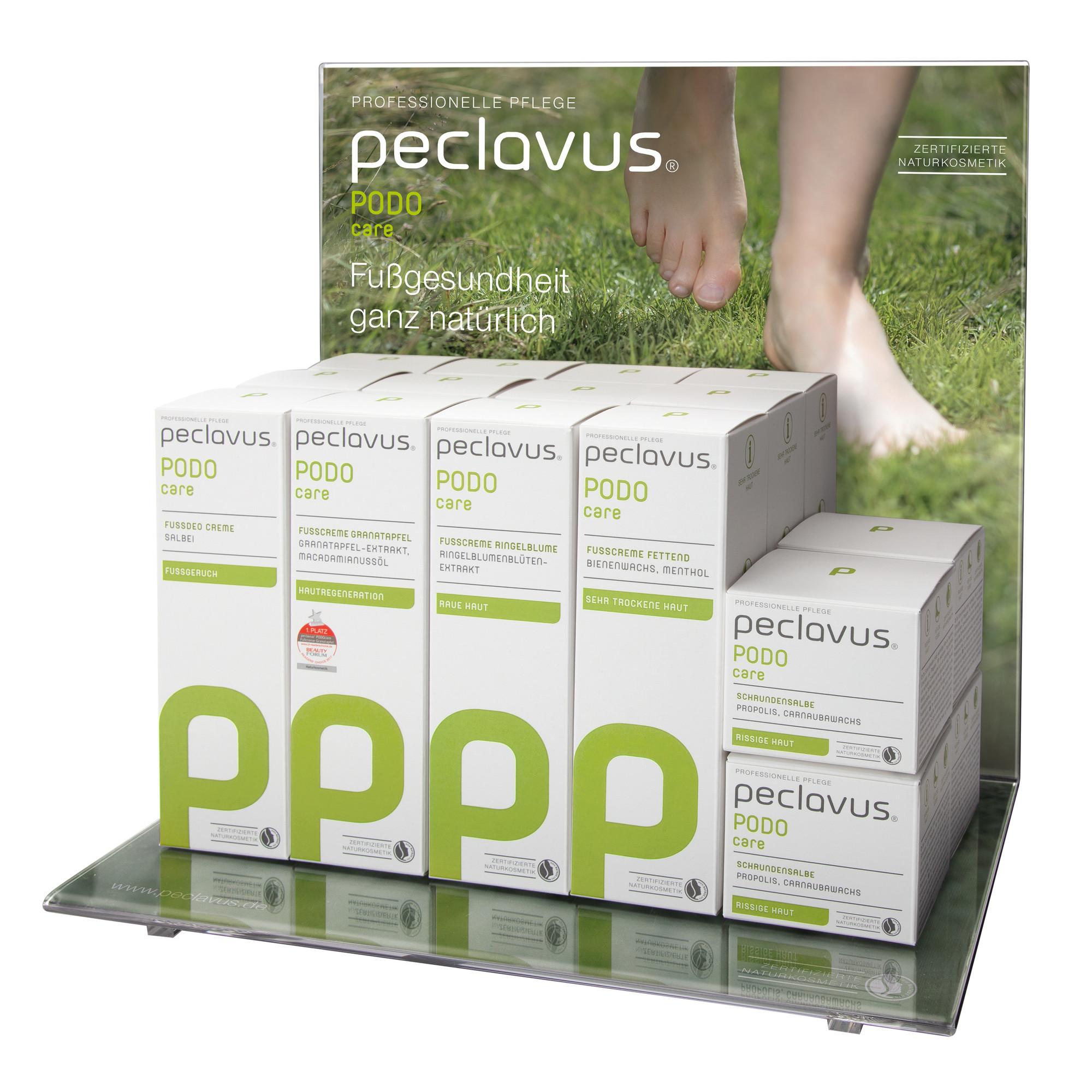 PODOmed Classic Set avec présentoir - Peclavus