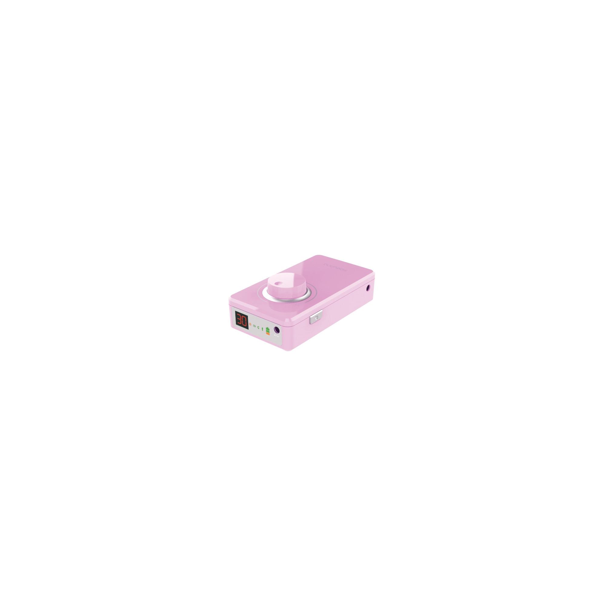 Micromoteur portable K38 - Rose - 30 000 tr/min - Avec pièce à main démontable