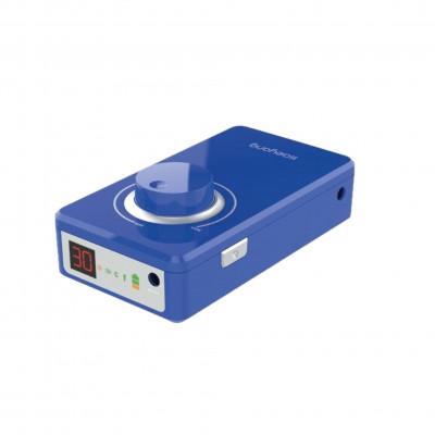 Micromoteur portable K38 - Bleu - 30 000 tr/min - Avec pièce à main démontable