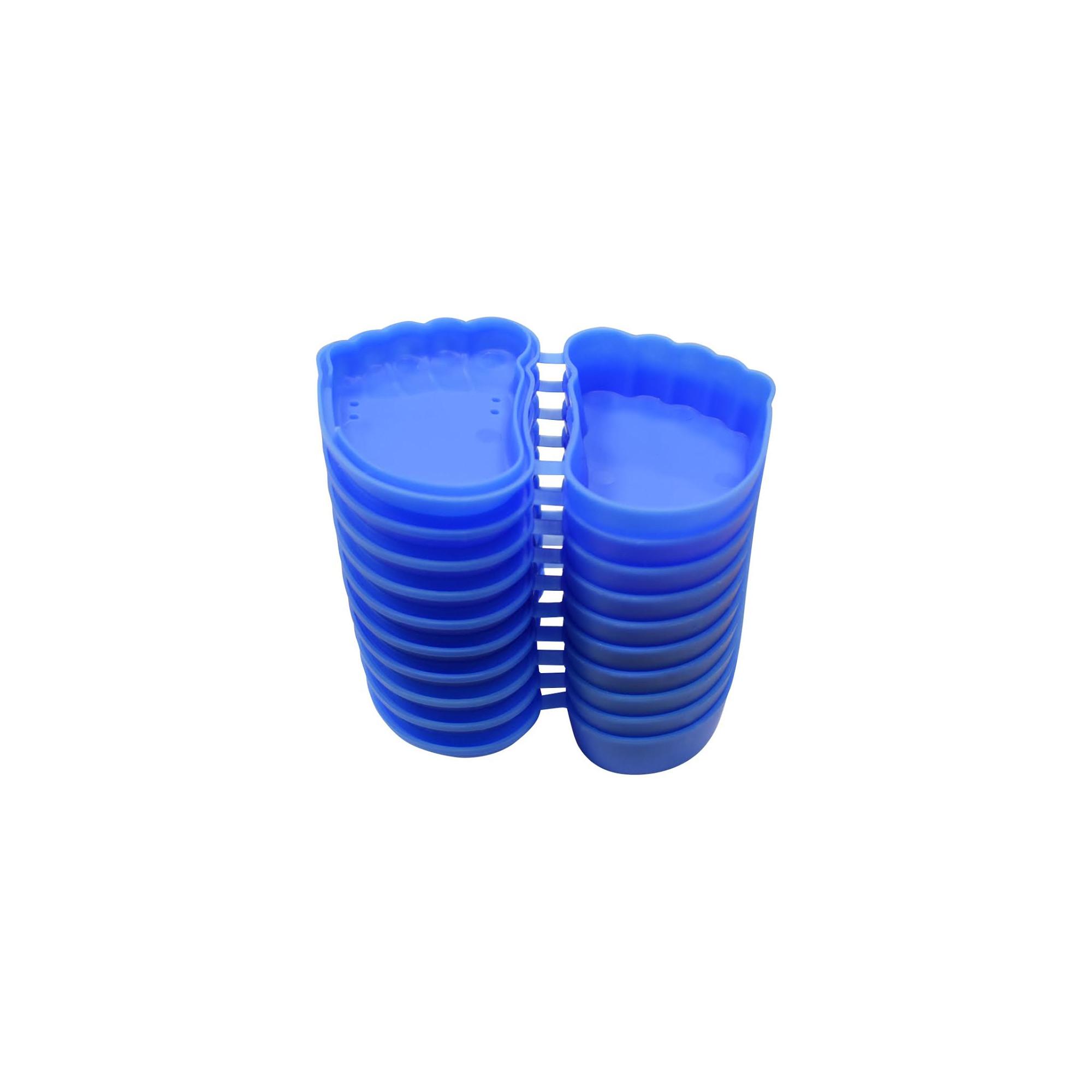 Orhtocase - 12 boite de rangement pour orthoplasties en silicone