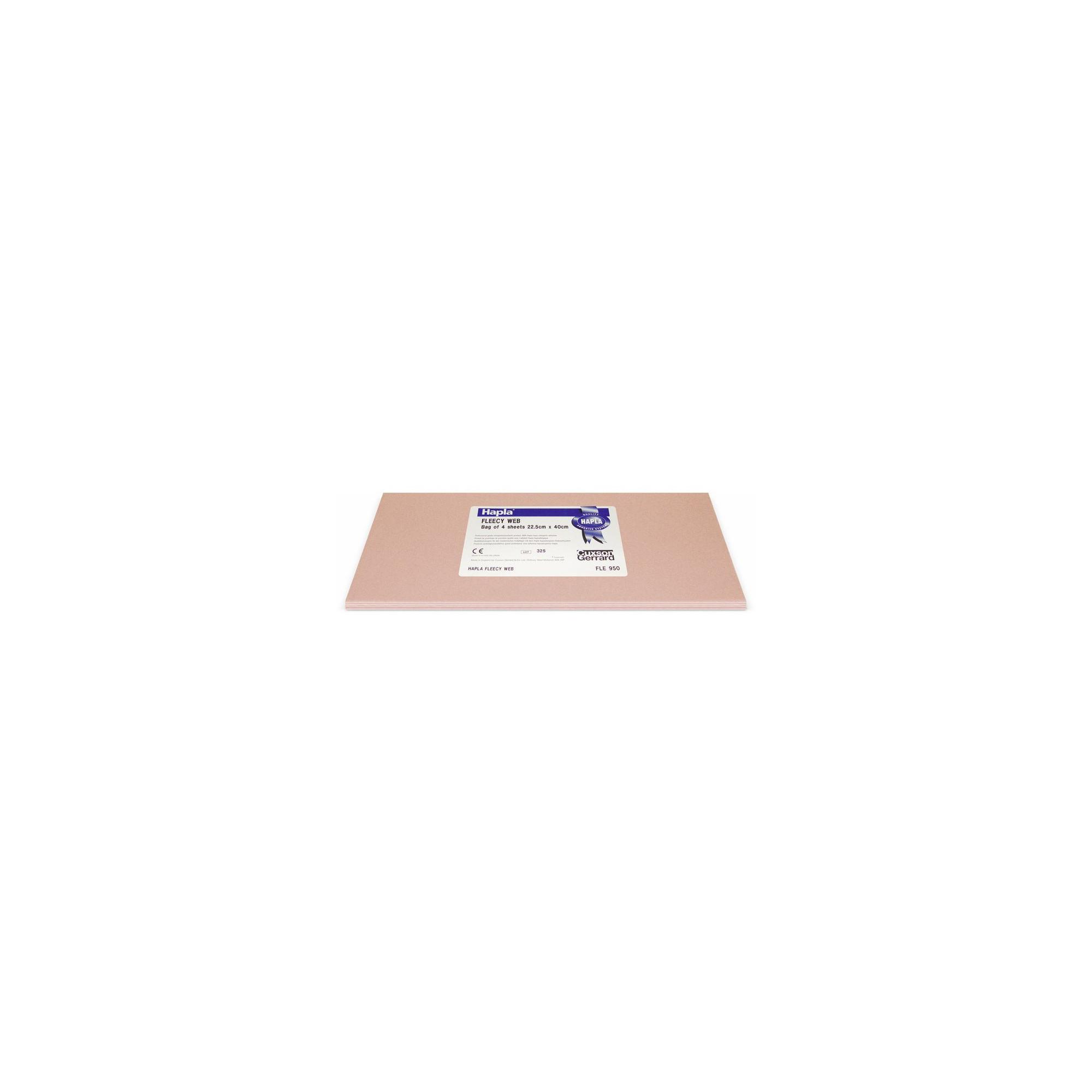 Hapla Fleecy Web - Plaque bandage adhésif