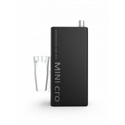 Mini cro - Micromoteur portable - Noir - 30 000 tr/min - Avec pièce à main démontable