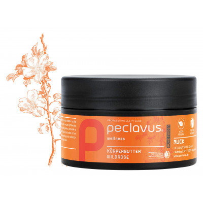 Beurre corporel Rose sauvage - 250 ml - Peclavus - Ruck
