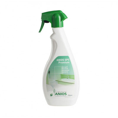 Anios SPS Premium - Détergent, détartrant, désinfectant Sanitaires - 750mL