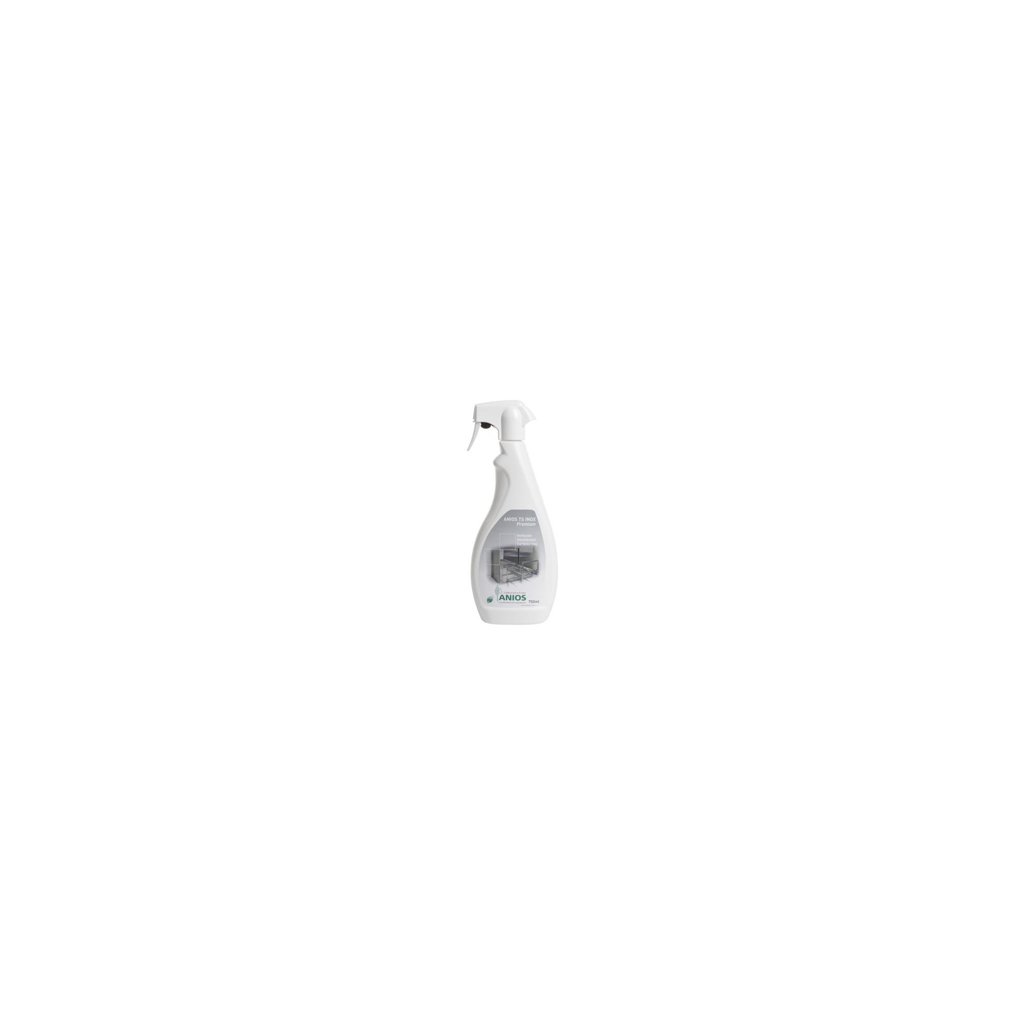 Anios TS Inox Premium - Nettoyant Désinfectant Surfaces Inox - 750mL