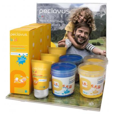 (produit arrêté) Kit Gamme Enfants complet avec présentoir - Peclavus