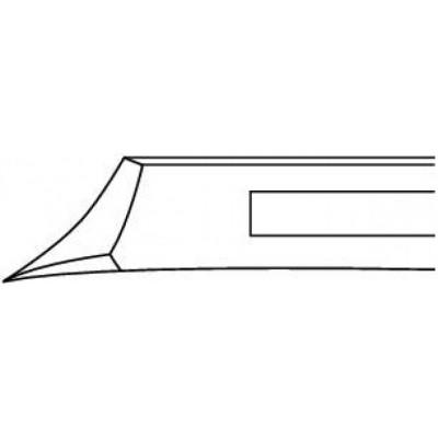 Pince à ongle courbée oblique 13,5cm Ruck