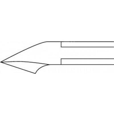 Ciseaux à envie coupe droite
