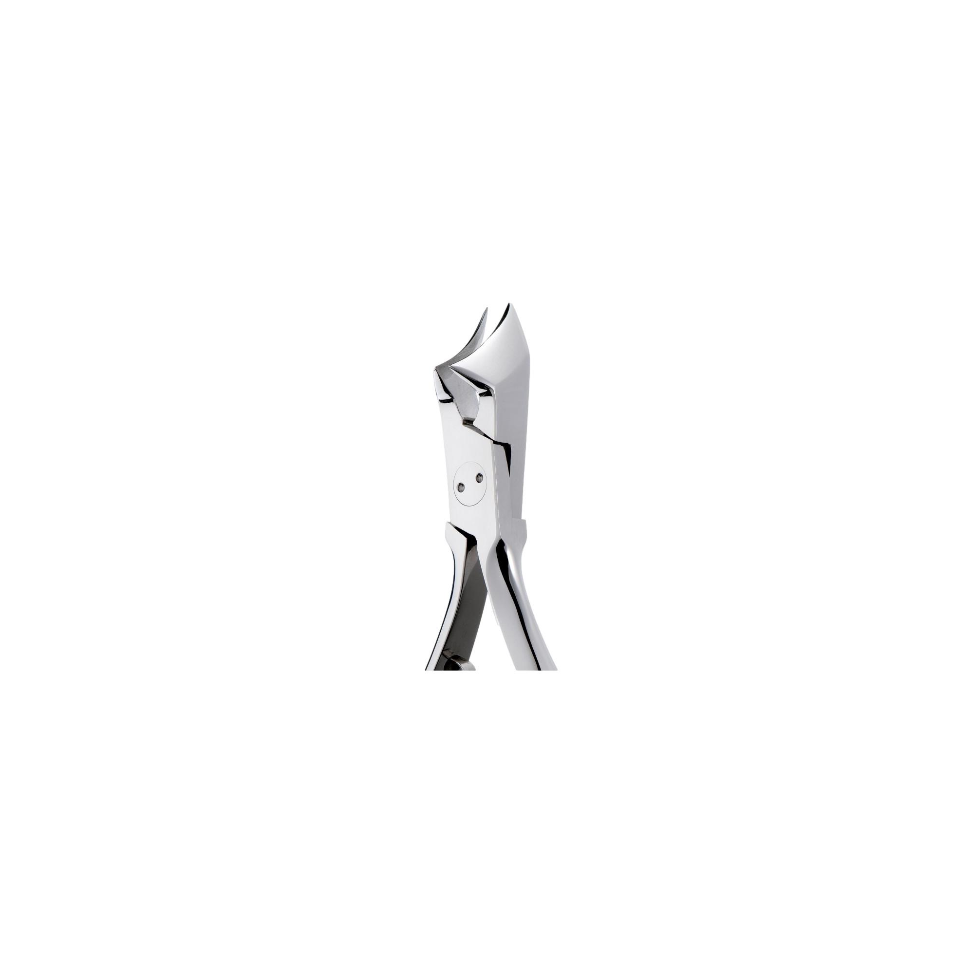 Pince à ongles incarnés mors obliques longs 20 mm coupe arrondie ELITECH by Eloi