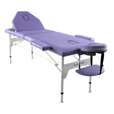 Table de massage pliante en aluminium Mauve 186x66 cm