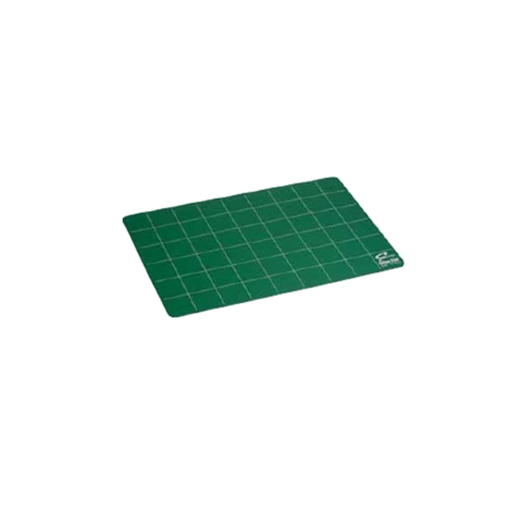 Plaque PVC 450 x 300 mm verte quadrillée