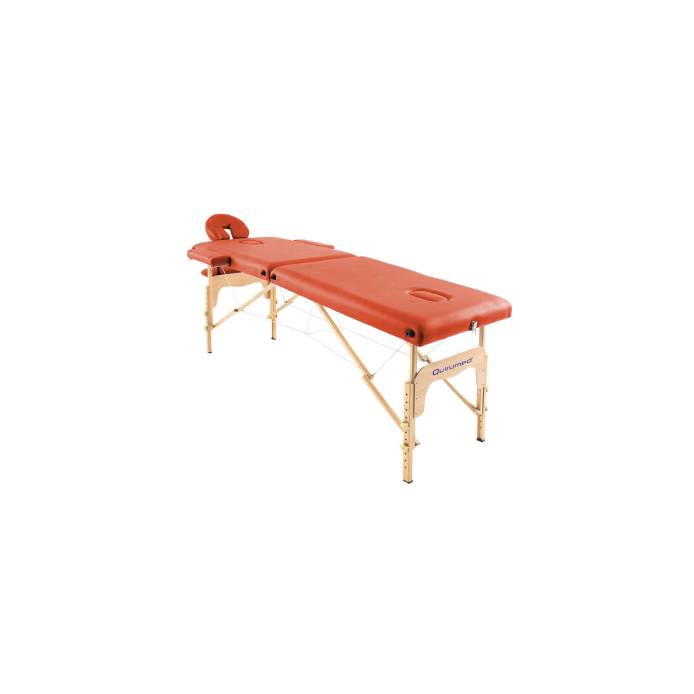 bois dossier en Orange sans pliante cm massage 182 60 Table de x rtsChQd