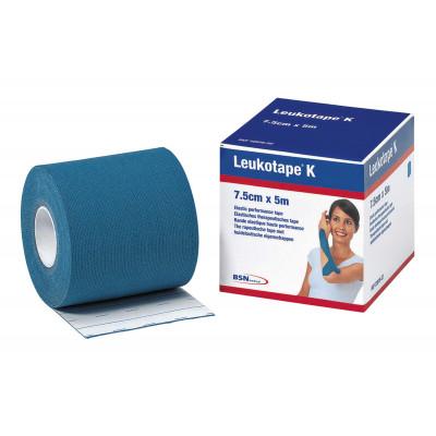 Bande LEUKOTAPE K 7,5cmx5M Bleu