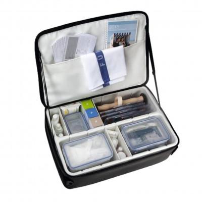 Ensemble sac de transport pour instruments et boites de rangement