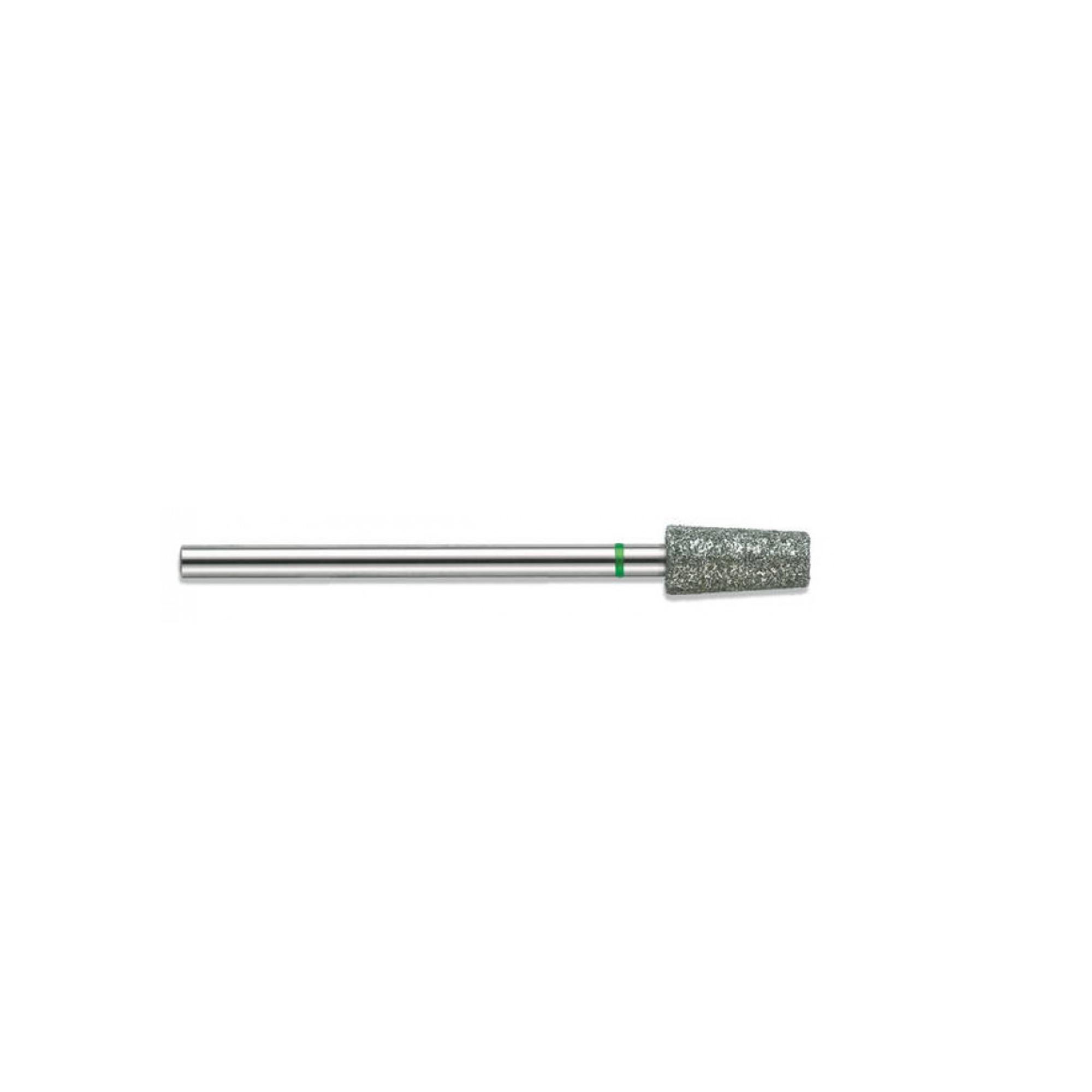 Fraise diamantée standard - Abrasion des callosités et dégrossissage de l'ongle - Gros grain - ø5mm