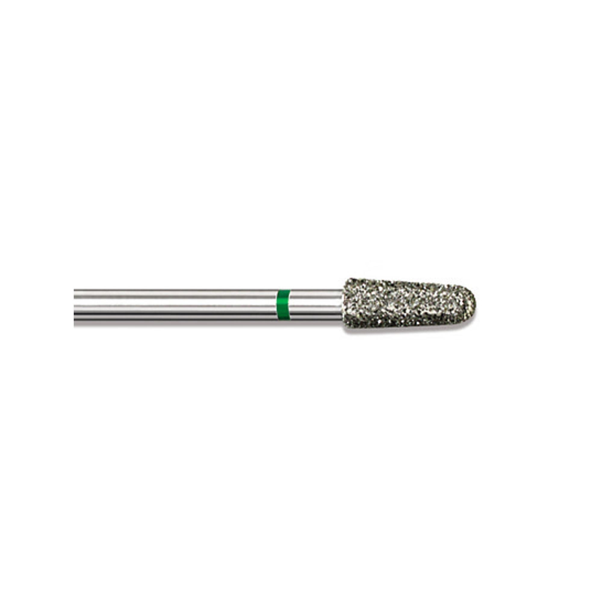 Fraise diamantée standard - Abrasion des callosités et dégrossissage de l'ongle - Gros grain - ø3,5mm
