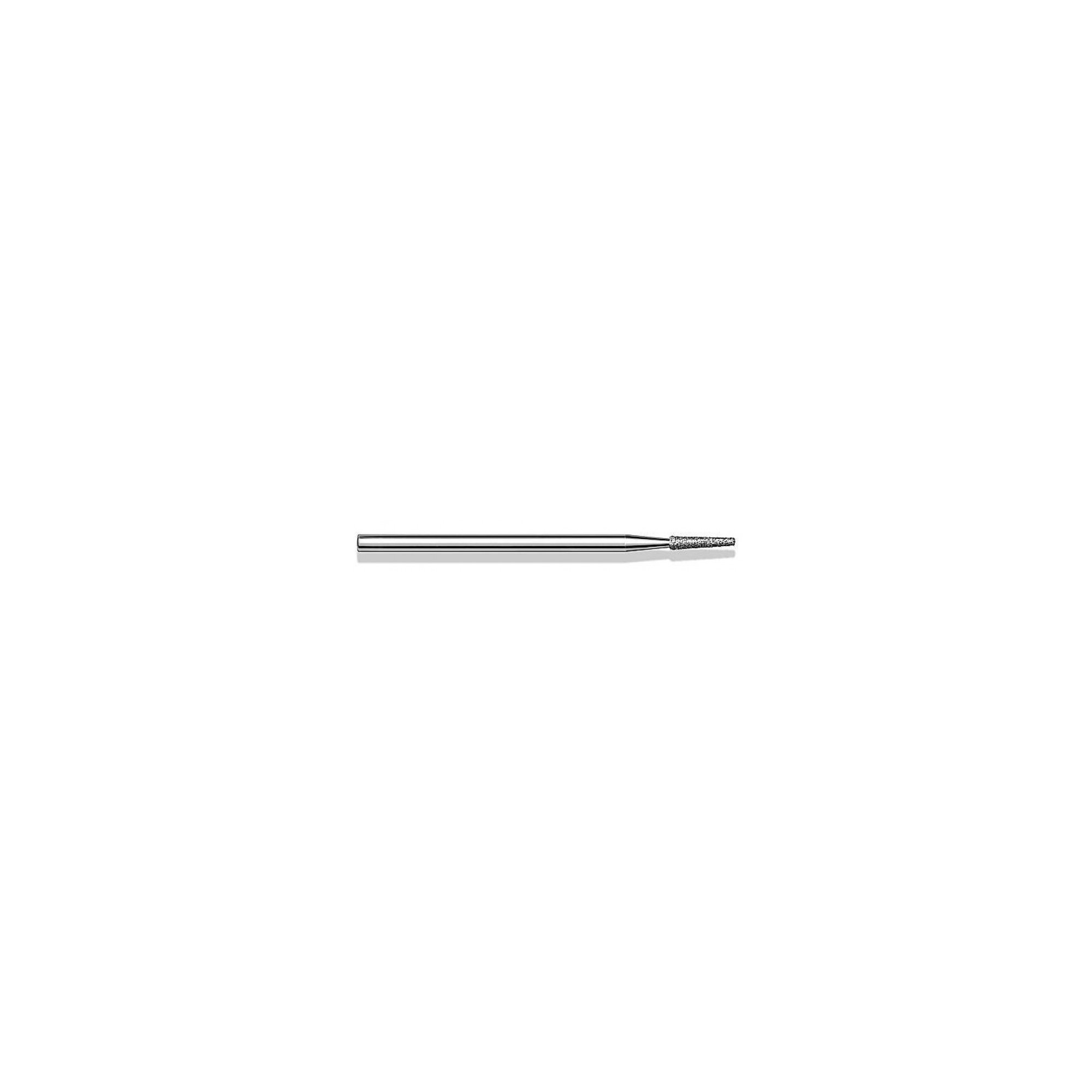 Fraise diamantée standard - Lissage des ongles et des callosités - Grain moyen - Pack de 2 fraises - ø1,8mm