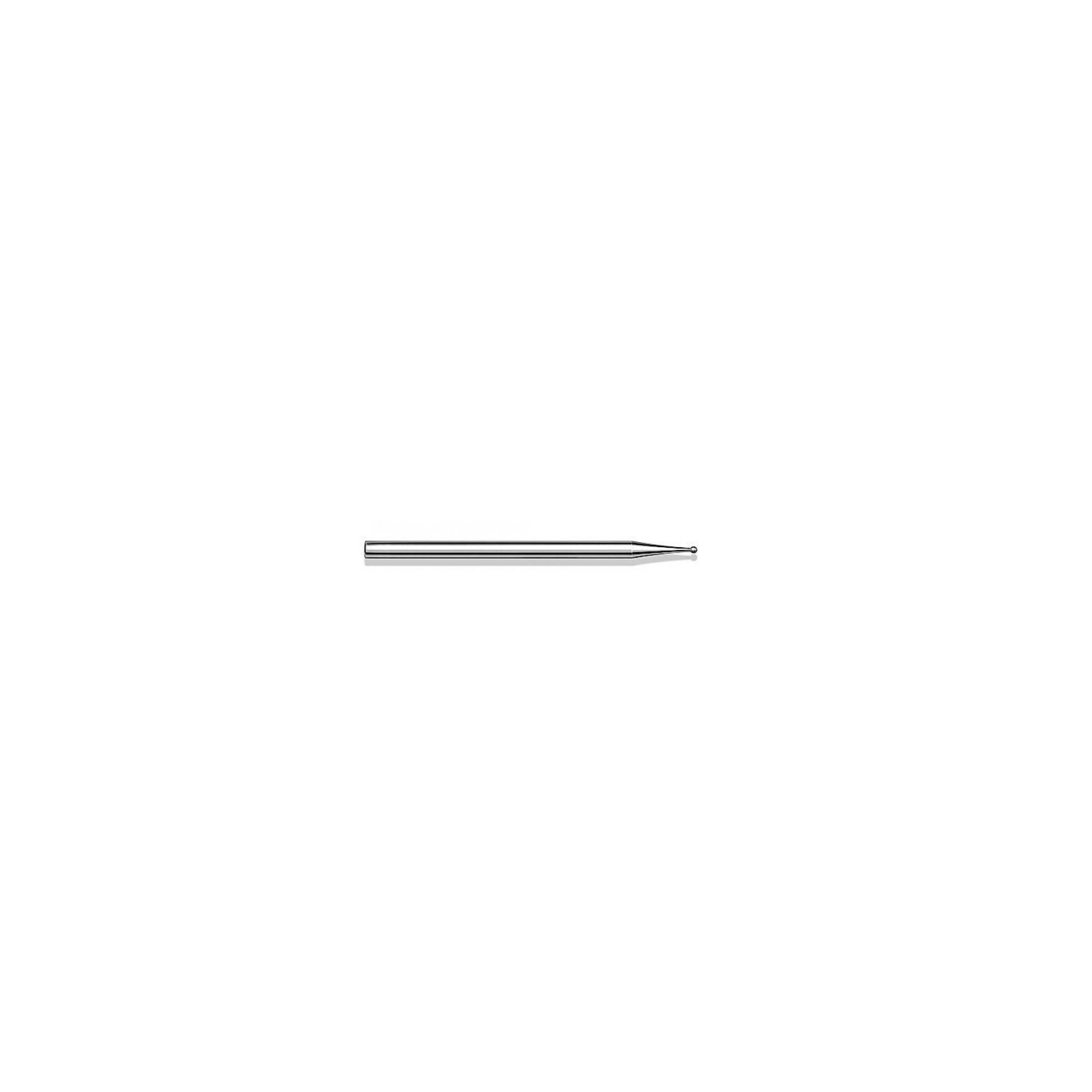 Fraise diamantée standard - Lissage des ongles et des callosités - Enucléation - Grain moyen - Pack de 2 fraises - ø1,0mm