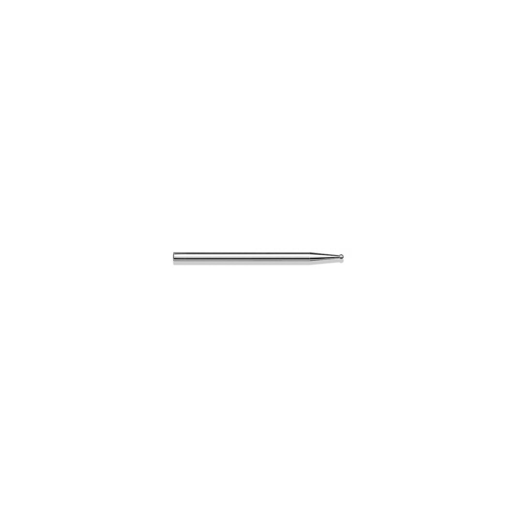 Fraise diamantée standard - Lissage des ongles et des callosités - Enucléation - Grain moyen - Pack de 2 fraises - ø1,4mm