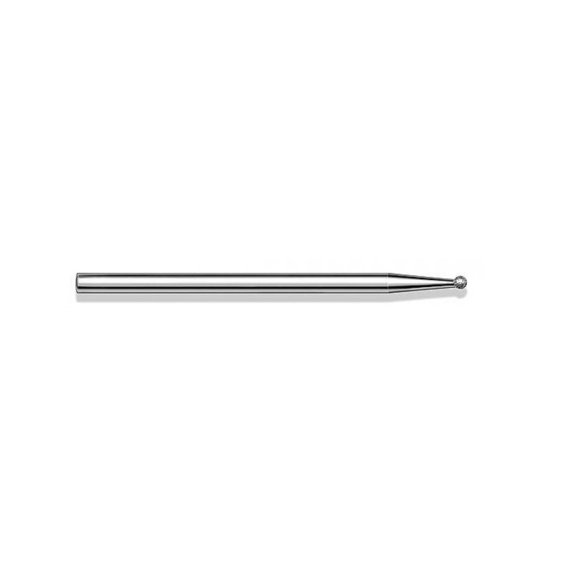 Fraise diamantée standard - Lissage des ongles et des callosités - Enucléation - Grain moyen - Pack de 2 fraises - ø1,6mm