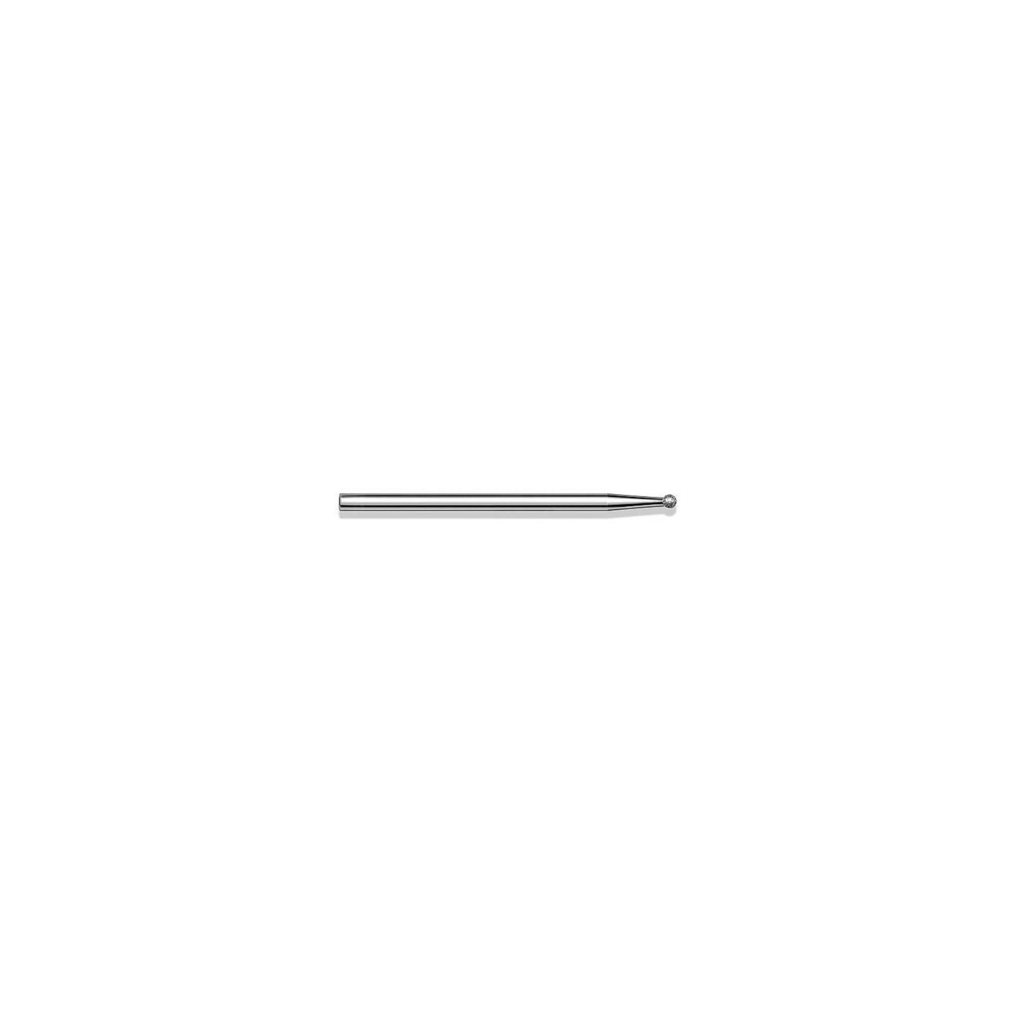 Fraise diamantée standard - Lissage des ongles et des callosités - Enucléation - Grain moyen - Pack de 2 fraises - ø1,8mm