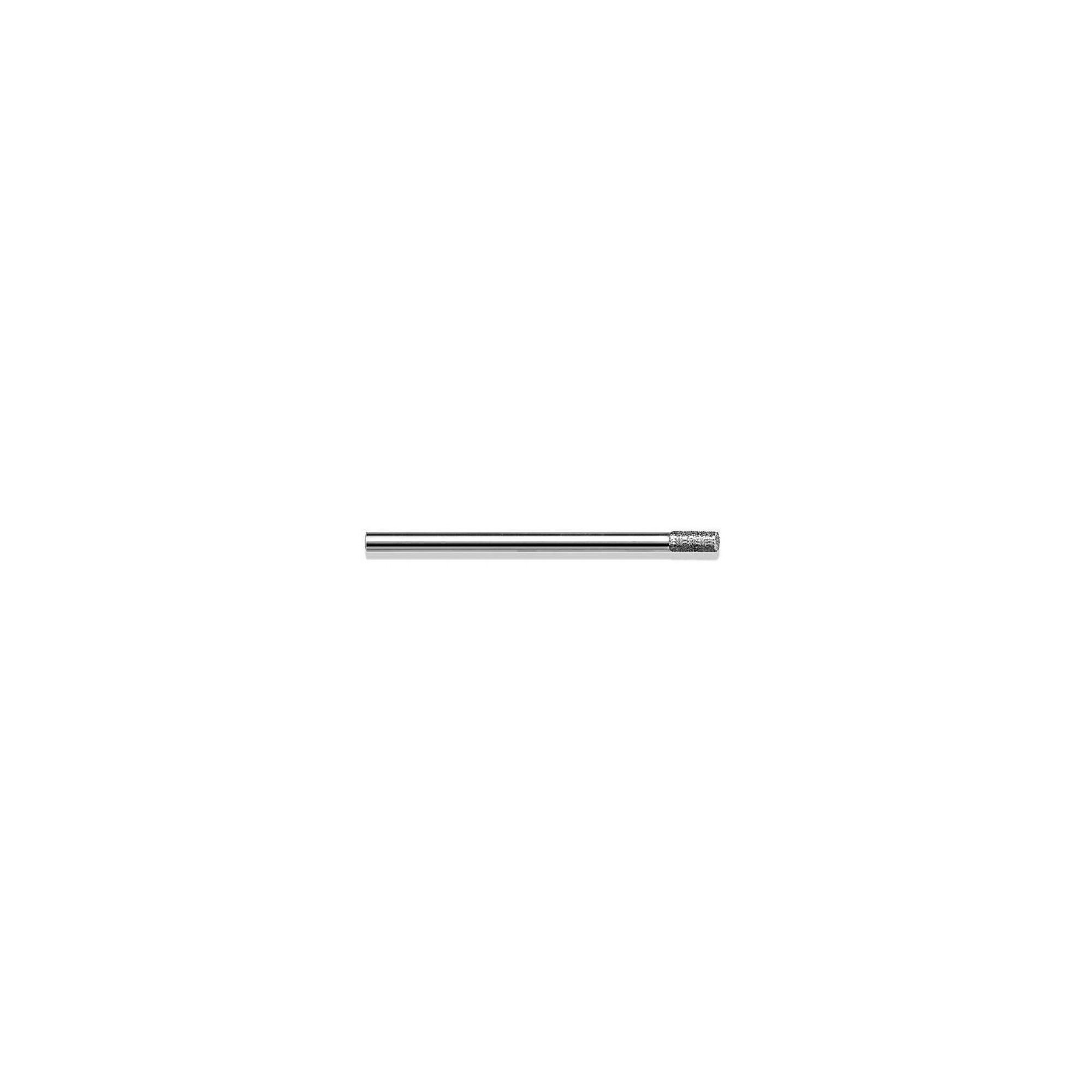 Fraise diamantée standard - Lissage des ongles et des callosités - Grain moyen - Pack de 2 fraises - ø2,7mm