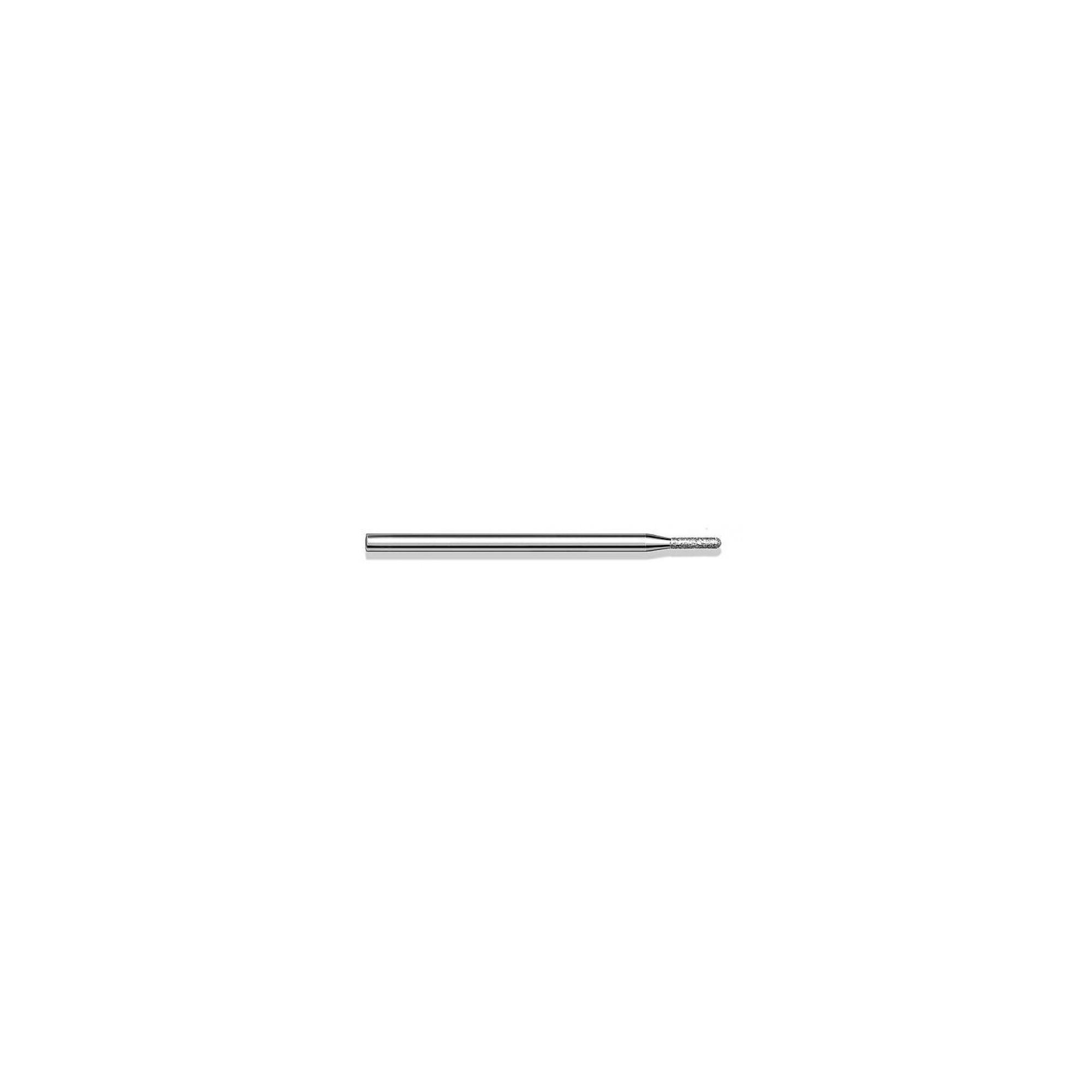 Fraise diamantée standard - Lissage des ongles et des callosités - Grain moyen - Pack de 2 fraises - ø1,4mm