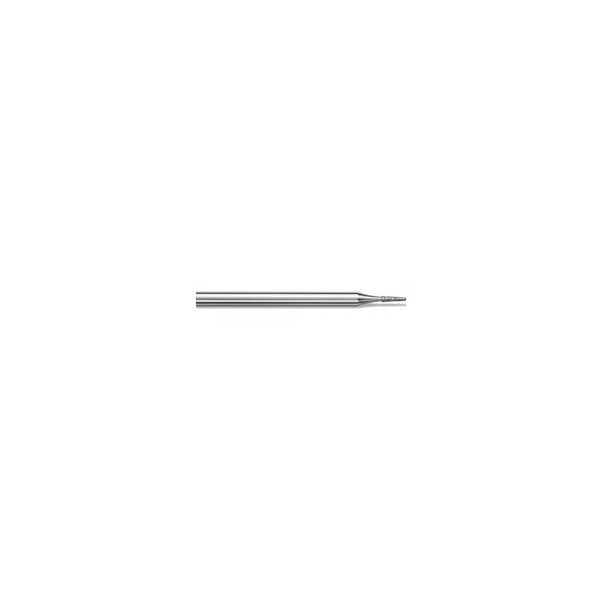 Fraise diamantée standard - Lissage des ongles et des callosités - Grain moyen - Pack de 2 fraises - ø1mm
