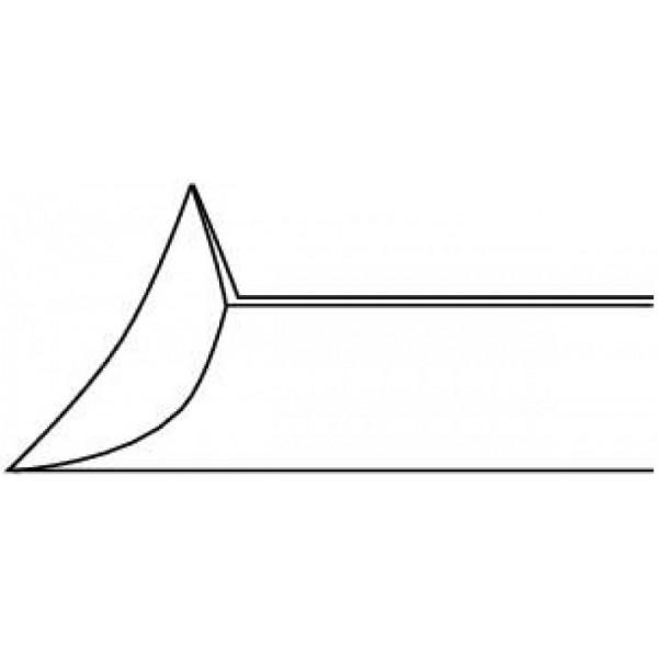 Sécateur à ongles oblique - mors légèrement concaves - 15cm Ruck