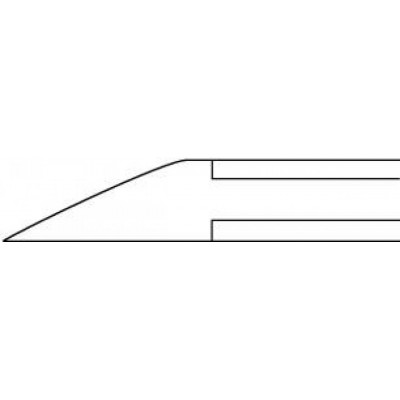 Pince à ongle droite - morts plats - 11,5 cm Ruck